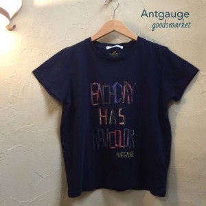 "Antgauge(アントゲージ)AB688 ロゴペイントTシャツ""EACH DAY"" ¥5,940"