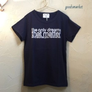 "G-171006 半袖ロゴTシャツ 7thGATE(セブンスゲイト)""the only dreams..."" ¥4,860"