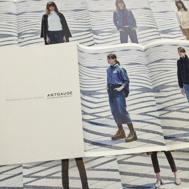 Antgauge 2016 Autumn &  Winter Collection カタログ